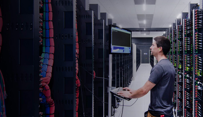 Network and Server Racks image